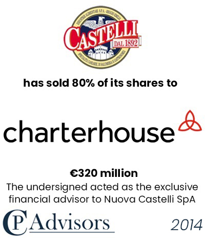 CP Advisors advised Nuova Castelli on the sale of its business to Charterhouse Capital Partners for approximately Eur. 320 million in cash