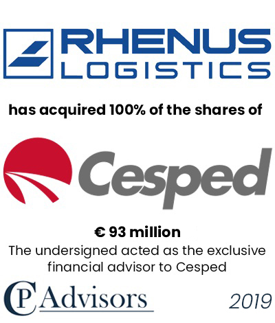 CP Advisors advised Cesped's shareholders on the sale of Cesped Group to the German conglomerate Rhenus